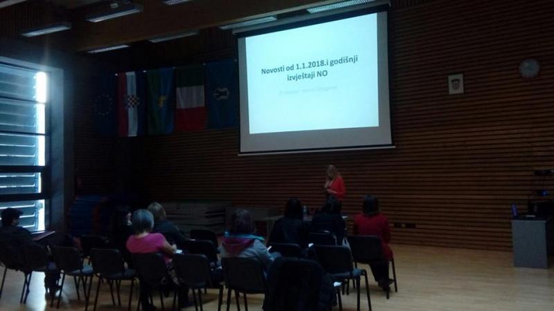 Održani seminari u Karlovcu i Pazinu