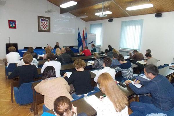 Tjedan u znaku edukacija namijenjenih predstavnicima OCD-a u sklopu projekta L.I.V.E. OCD Našice
